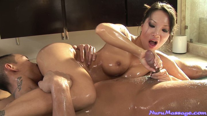 oiled handjob best