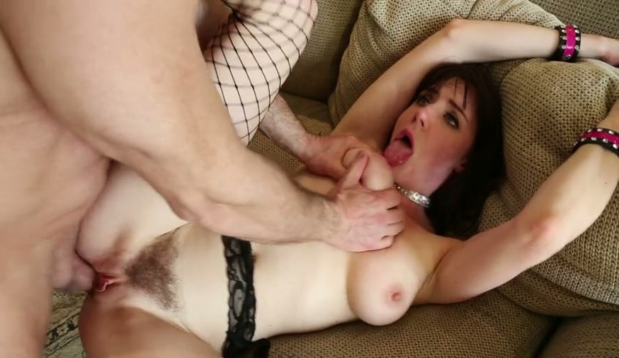 the biggest cock in her ass