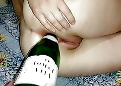 champagne in avi celebration pussy