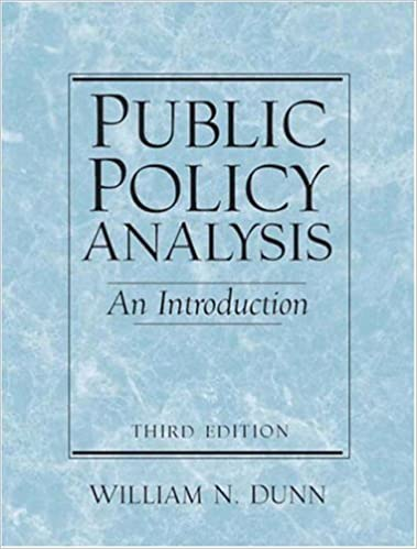 analysis dunn introduction an public policy