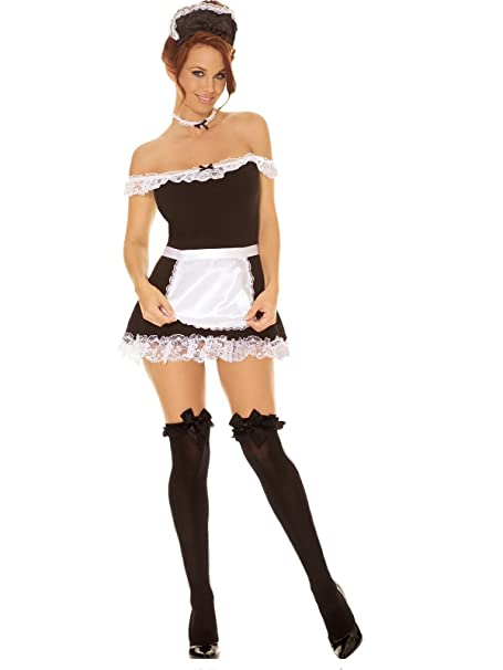 costme sexy french description maid