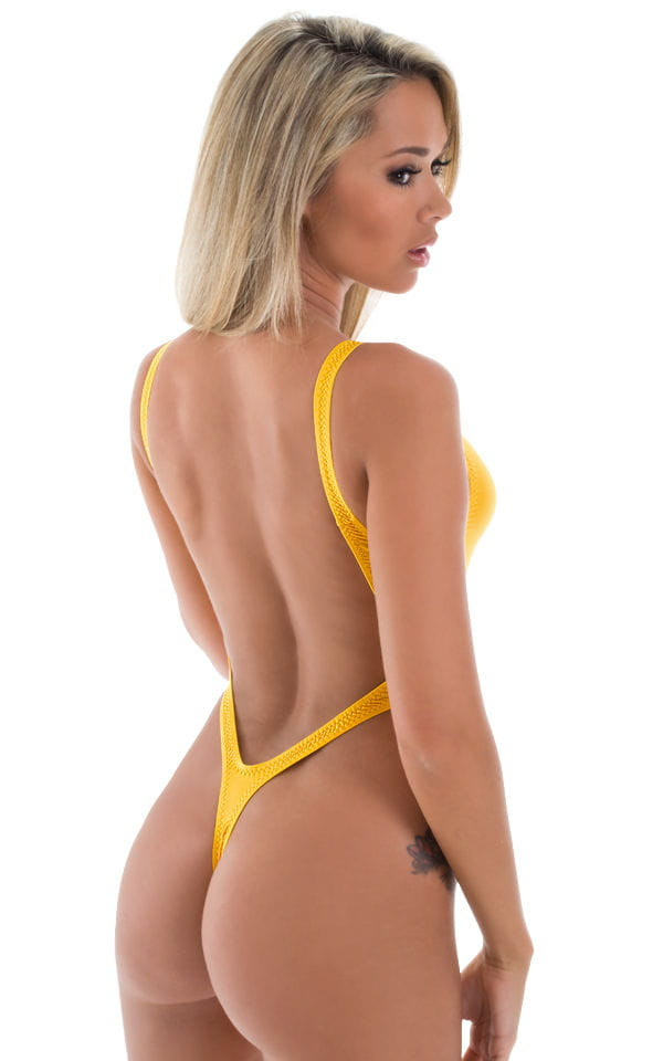 thong sexy yellow