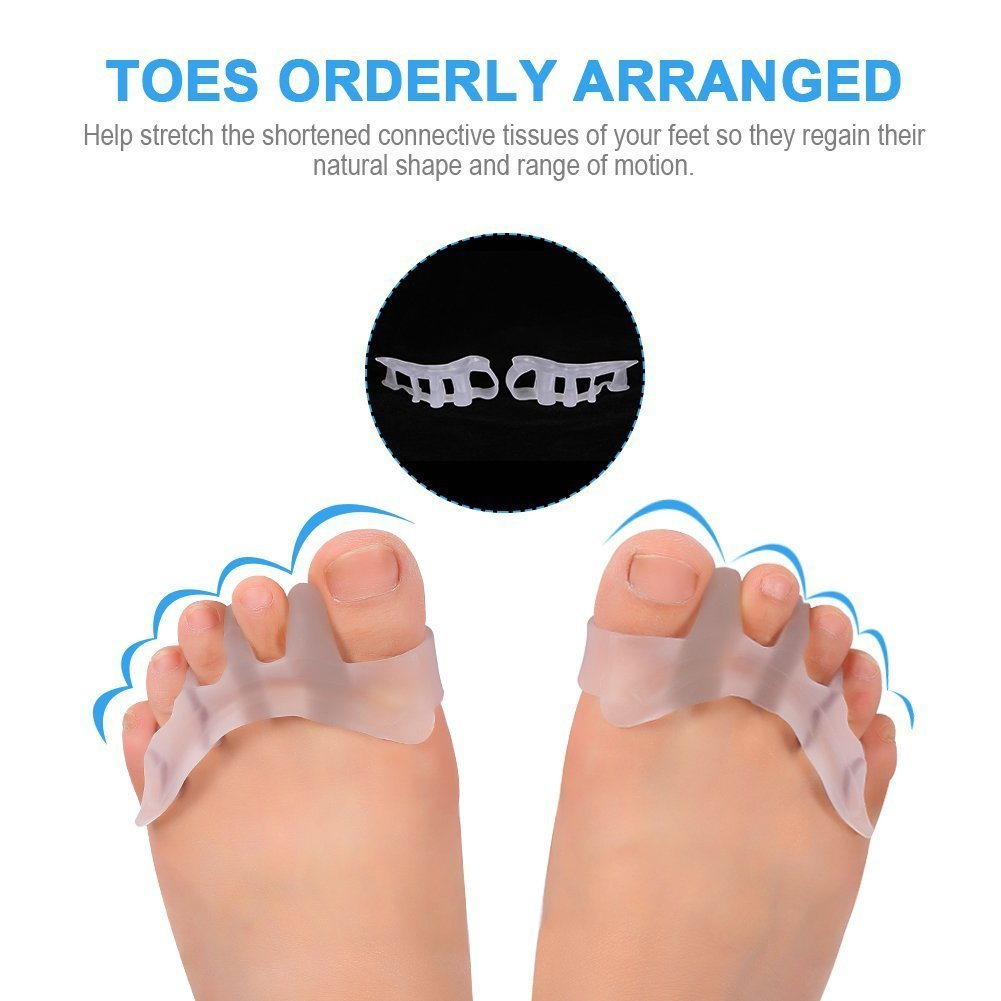 toe with feet one
