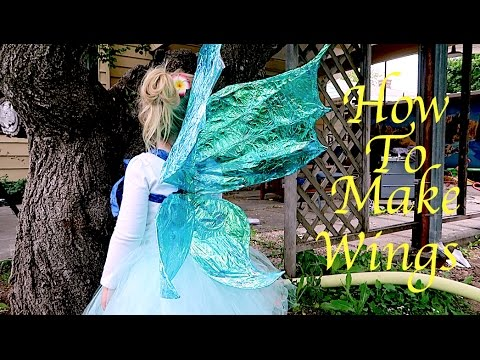 adult fairy make wings how to