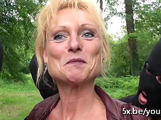 french anal mature free