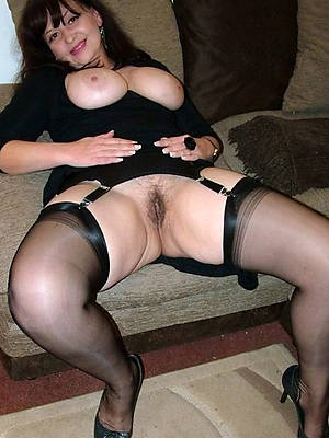 nylons wearing nude women