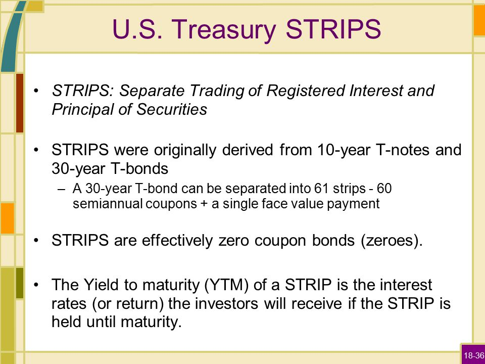 strip treasury us