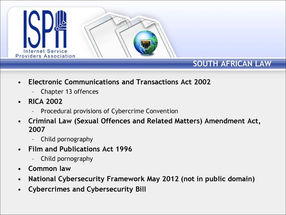 internet and pornography south africa law