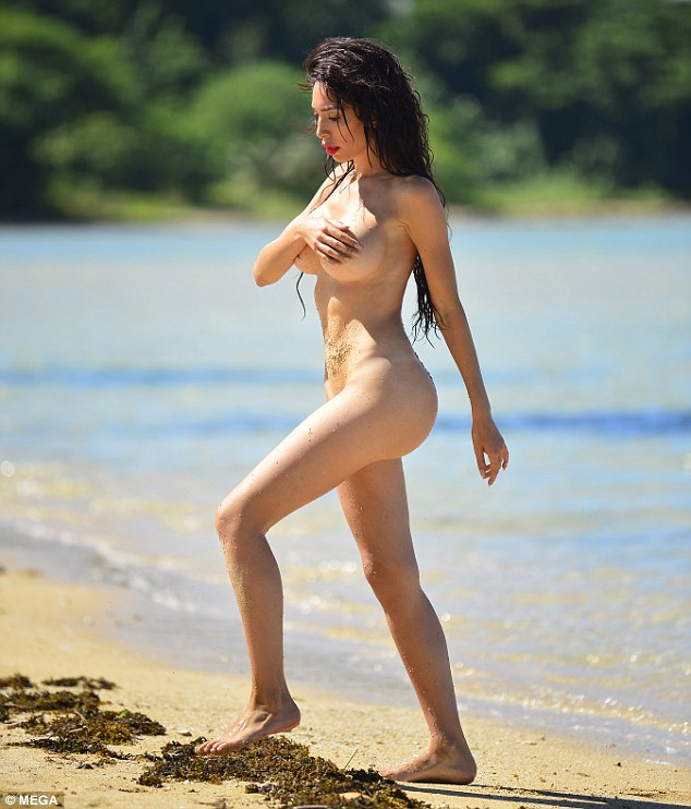 costa nude official rica in beach