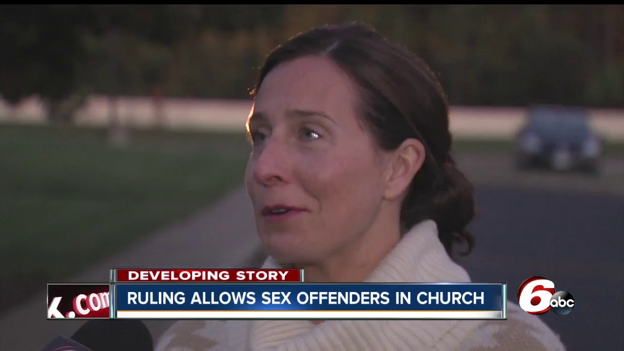 church sex can attend offenders